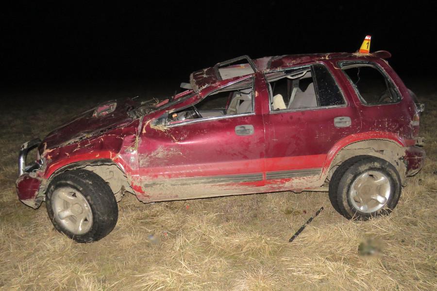 Dnešní ranní nehodu řidič nepřežil