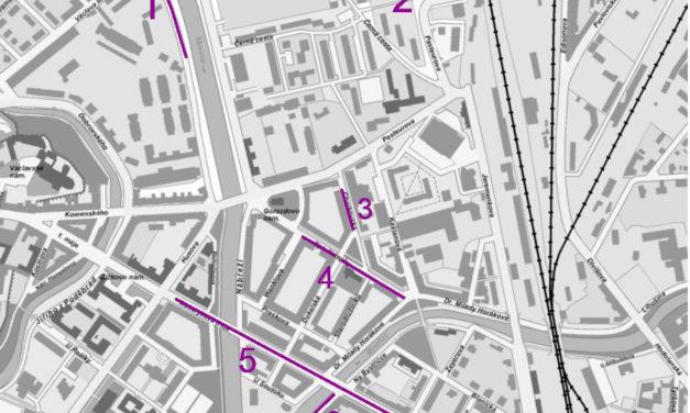 Stavební práce startují, podívejte se kde zaparkujete