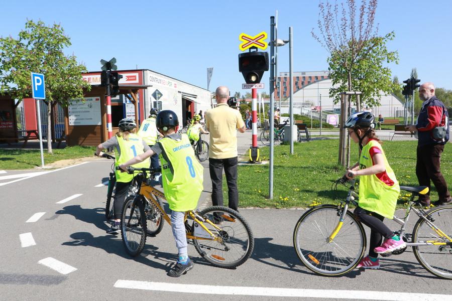 Olomoucké dopravní hřiště zdvojnásobilo plochu