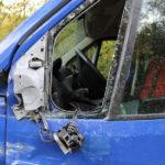 V Drahanovicích o sebe škrtla dvě auta