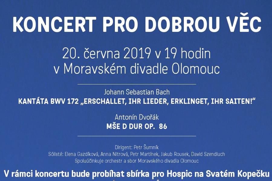 Divadlo koncertem podpoří svatokopecký hospic