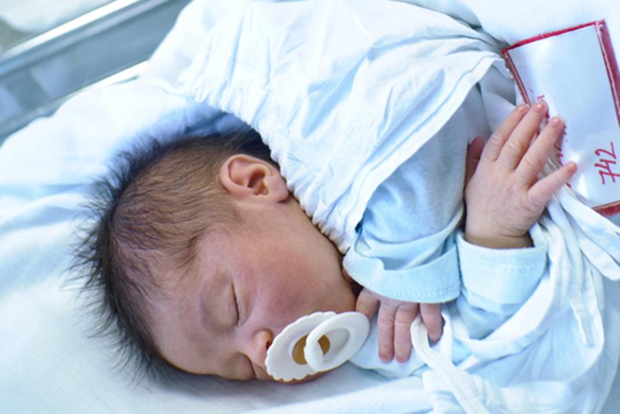 Ve šternberské porodnici přišlo v dubnu na svět 100 dětí
