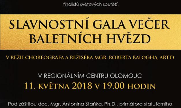 Do Olomouce míří baletní hvězdy i mladé naděje