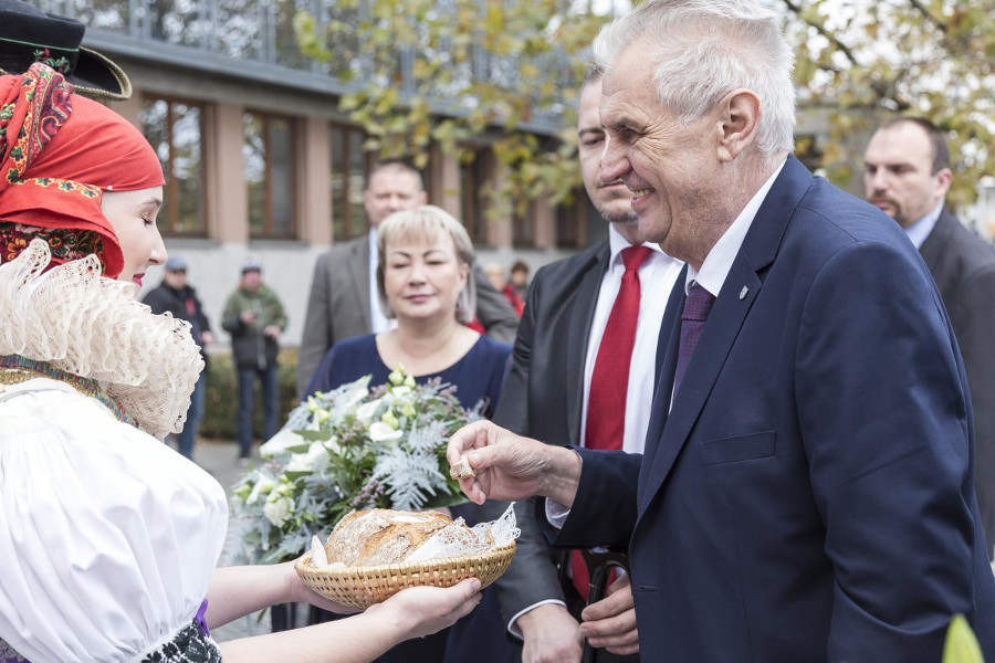 Do Olomouce přijede prezident Zeman
