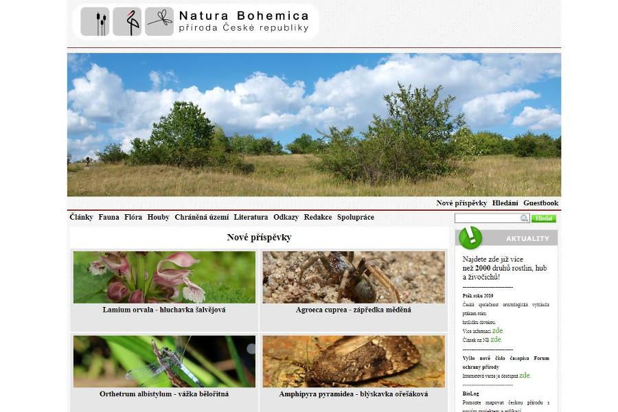 Studenti založili webovou encyklopedii české přírody