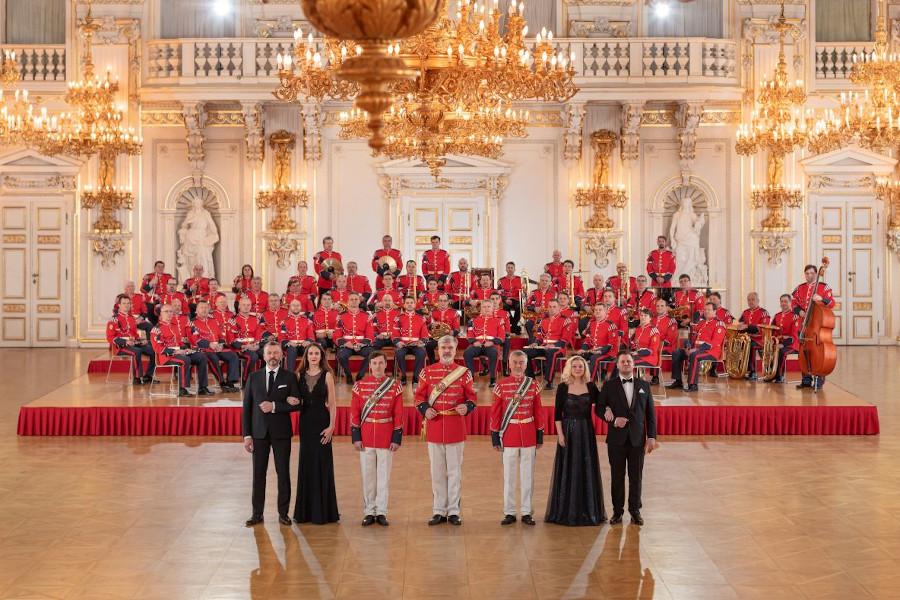 V Olomouci vystoupí hudba hradní stráže a policie