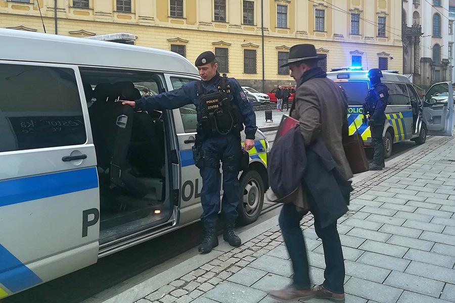 Věstonická venuše opustila Olomouc, podívejte se na fotky