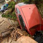 Hasiči řeší následky přívalových dešťů