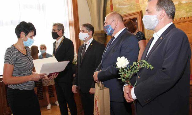 Rytířská síň olomoucké radnice hostila dárce krve