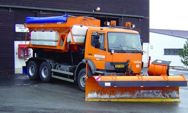 Začíná zimní údržba hlavní silničních tahů