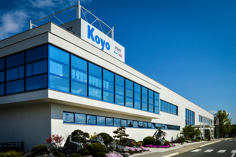 Olomoucká firma Koyo Bearings se stala Ambasadorem kvality